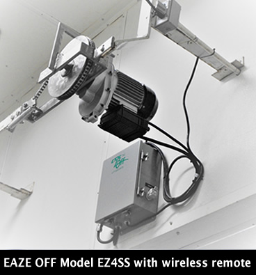 EAZE OFF model EZ4SS wireless installed